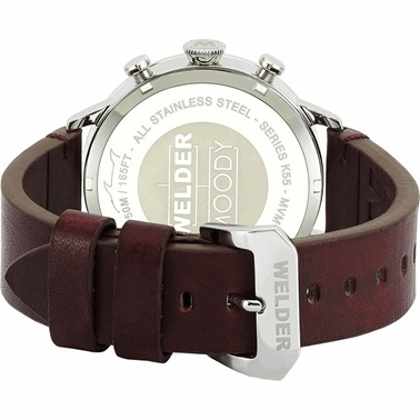 Welder Watch Saat Bordo